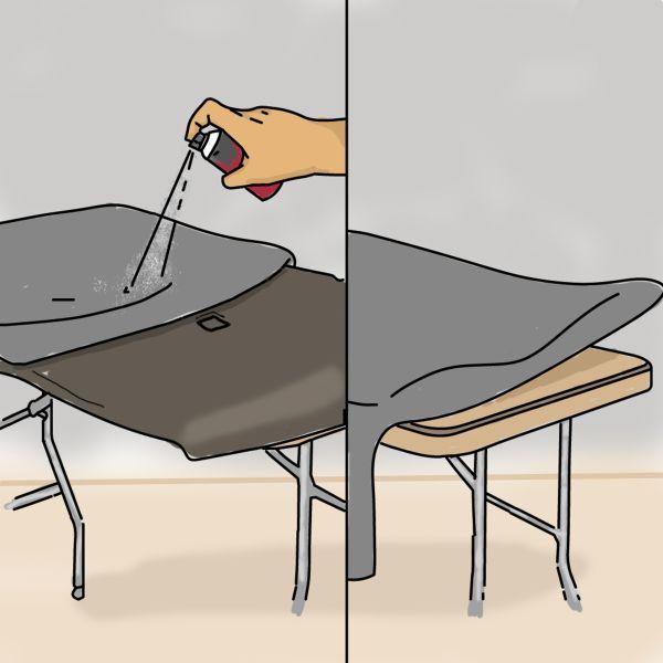 jak przykleić podsufitkę