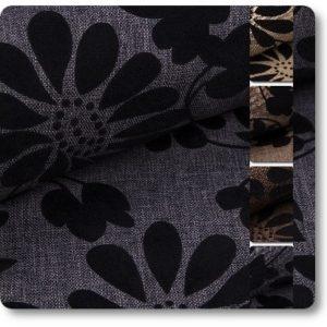 tkaniny w kwiaty