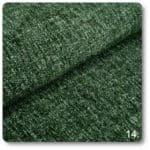 tkanina szenilowa zielony