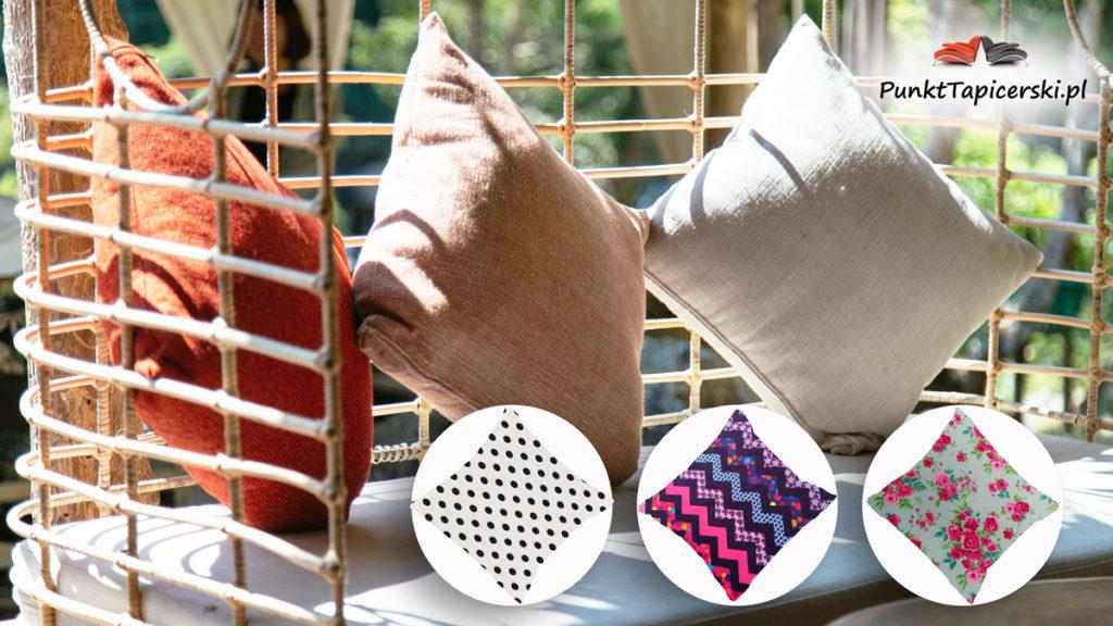 tkaniny ogrodowe na poduszki