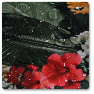 tkanina garden materiał w liście
