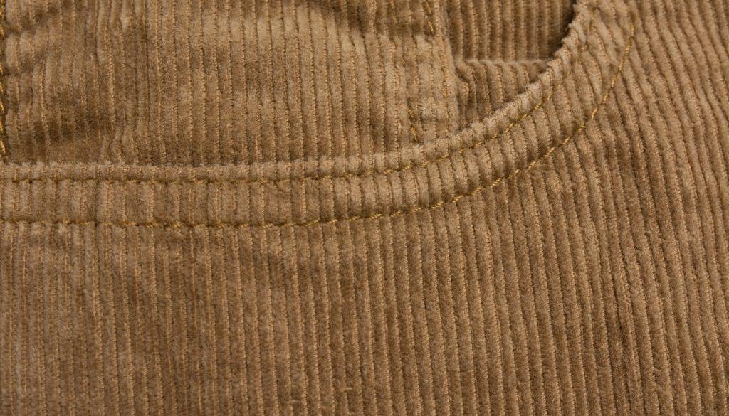 sztruks tkanina w prążki