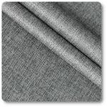 tkanina z włókna poliestrowego popielaty