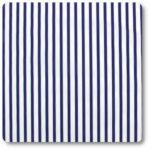bawełniane pasy niebiesko-białe