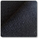 czarny materiał na kanapę