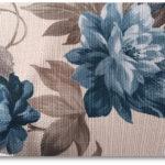 materiał w kwiaty